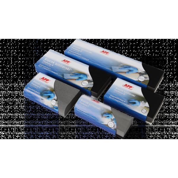 Брусок шлифовальный пенный A (210х75х27мм)App , шт.