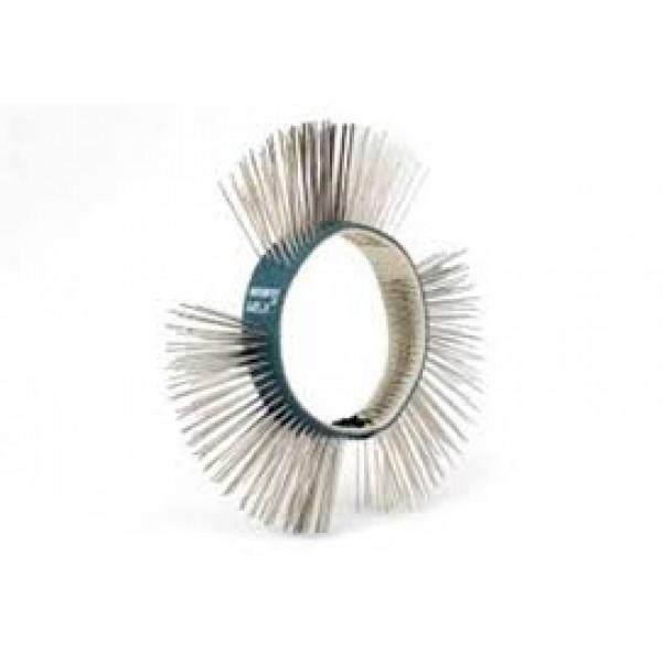 Щетка МВХ® синяя, нержавеющая сталь, мягкая, 11 мм