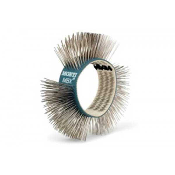 Щетка МВХ® синяя, нержавеющая сталь, мягкая, 23 мм