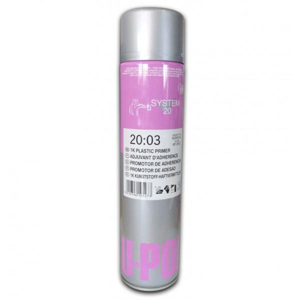S2003 1K Грунт адгезионный для пластика, 600 мл аэрозоль., U-pol, шт.