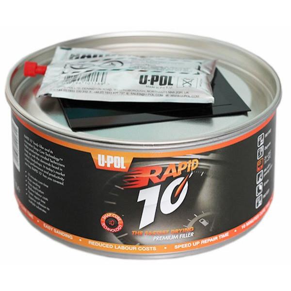 RAPID 10´ DODY FILLER Мультифункциональная быстросохнущая шпатлевка, 1.1 л., U-pol, шт.