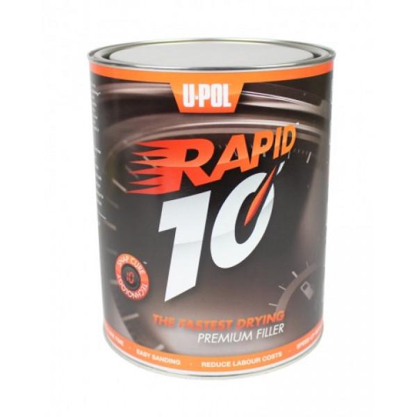 RAPID 10´ DODY FILLER Мультифункциональная быстросохнущая шпатлевка, 3л., U-pol, шт.
