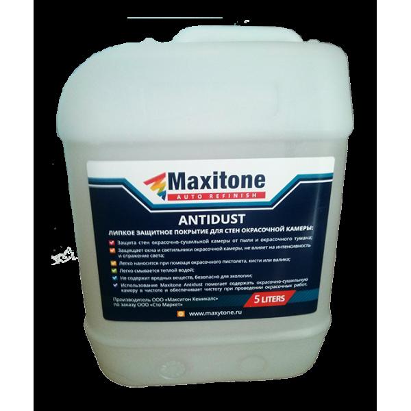Липкое защитное покрытие для стен окрасочной камеры Maxitone 5л.