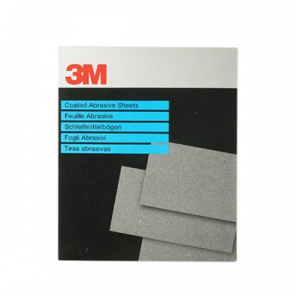 Бумага водостойкая 734 Tri-M-Ite, лист, карбид кремния, P1000 (230x280мм), 3М , шт.
