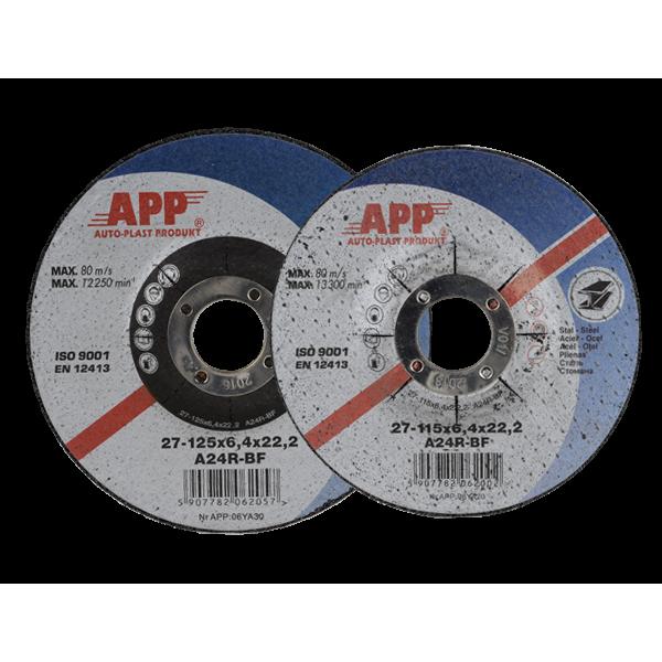 Диск шлифовально-отрезной D115мм.(115х2,5х22,2мм)App , шт.