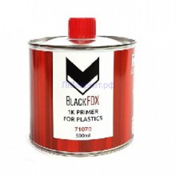 BlackFox 1К Грунт для пластика PLASTIC PRIMER 0,5л.