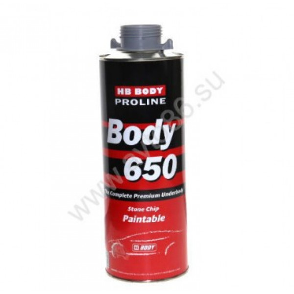 BODY Антикор HB PROLINE 650 (сер.) 1кг., шт.