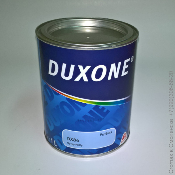 Duxone Шпатлевка DX86 SPRАY PUTTY , шт.