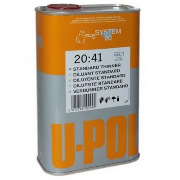 Разбавитель S2045 мультифункциональный,стандарт.,банка 1л.,прозрачный,U-pol, шт.