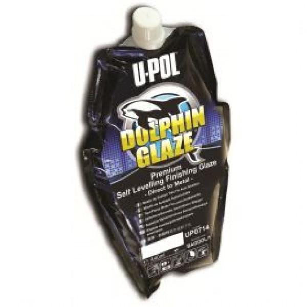 Шпатлевка DOPLHIN GLAZE жидкая самовыравнивающаяся, пакет 440мл., U-pol , шт.